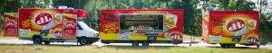 ' Mobiele Frituurwagen Foodtrucks DE TEMPELIER