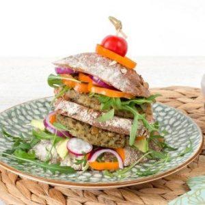 Boerenkool quinoa burger
