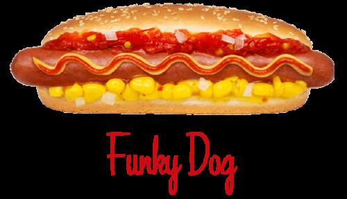 Funky Dog hotdog