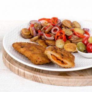 Griekse schnitzel