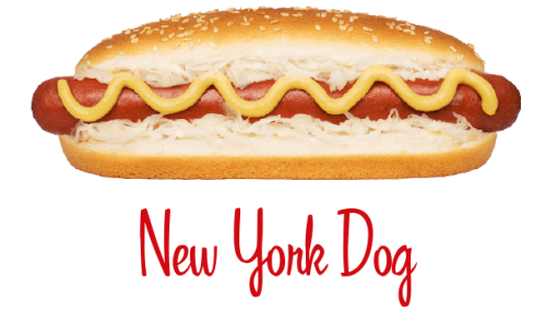 New York Dog hotdog