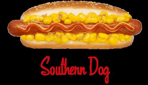 Southern Dog hotdog