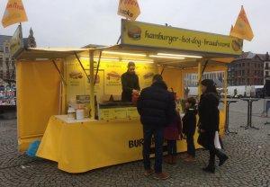 Hamburgerkraam   Het Burger-Manneke