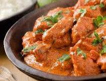 Indische tikka masala