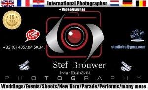 ' Fotograaf Stef Brouwer & videograaf