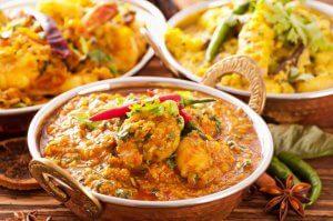 Indische gerechten foodtruck